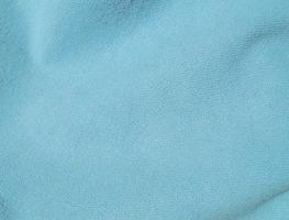 Sky Blue Hand Dyed Felted Wool Fabric