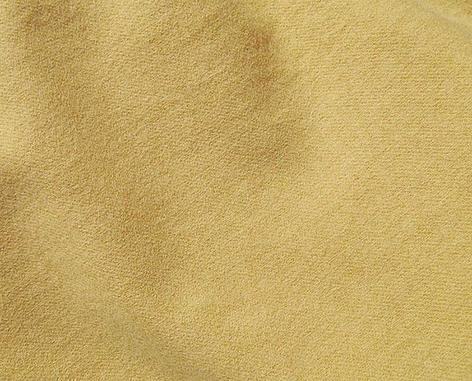 Yellow Gold Hand Dyed Felted Wool Fabric