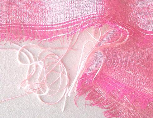 Pink Raspberry Iridescent Silk Dupioni Fabric