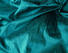 Jewel Tone Green Teal Iridescent Dupioni Silk Fabric