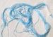 Sky Blue Brilliant Filament Silk Embroidery Floss