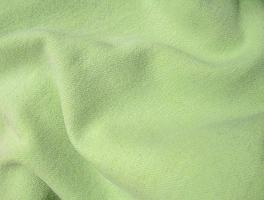 Apple Lime Green Hand Dyed Felted Wool Fabric