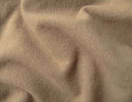 Warm Brown Hand Dyed Felted Wool Fabric
