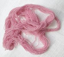 Lavender Purple Fine Pure Merino Wool Thread Two Ply
