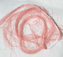 Peach Salmon Filament Silk Embroidery Thread