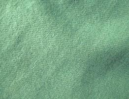 Green Hand Dyed Felted Wool Fabric