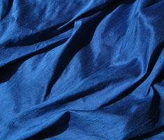 Royal Sapphire Blue Silk Dupioni