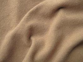 Medium Brown Hand Dyed Felted Wool Fabric 5.5 x 17.5