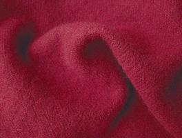 Burgundy New Felted Wool Fabric