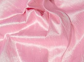 Sparkling Pink Iridescent Dupioni Silk Fabric 11 x 17.75