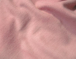 Medium Pink Hand Dyed Felted Wool Fabric 7 x 9.5