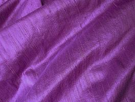 Deep Purple Violet Iridescent Dupioni Silk Fabric 25 x 16.75